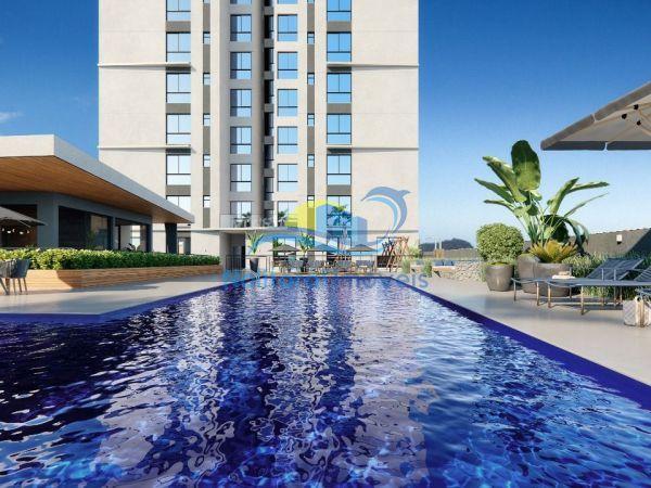 334 - Blue Waves Residences - 3 suítes - Vista Leste Piscina Externa