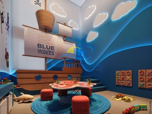 334 - Blue Waves Residences - 3 suítes - Espaço Kids