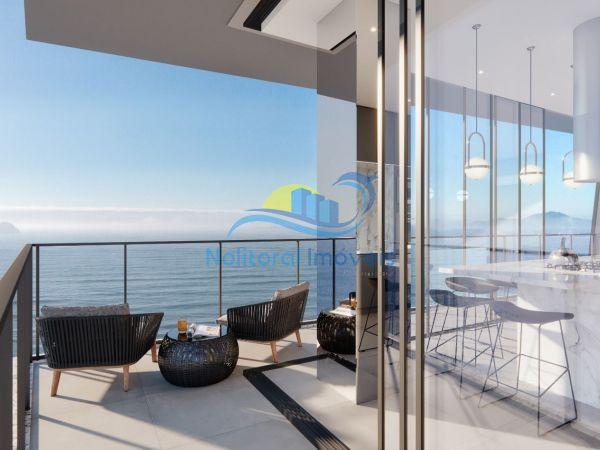 334 - Blue Waves Residences - 3 suítes - Sacada Vista Leste